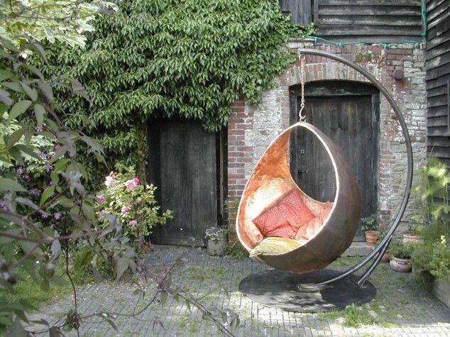 The 25 best Garden swing chair ideas on Pinterest Garden