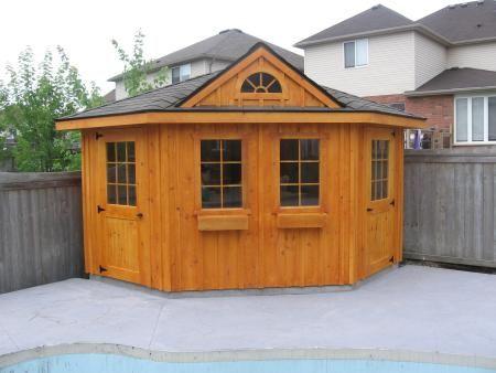 90 best images about operation pub shed on pinterest for Corner garden shed designs