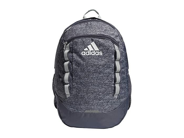 adidas Excel V Backpack (Jersey Onix/Onix/Dash Green/White ...