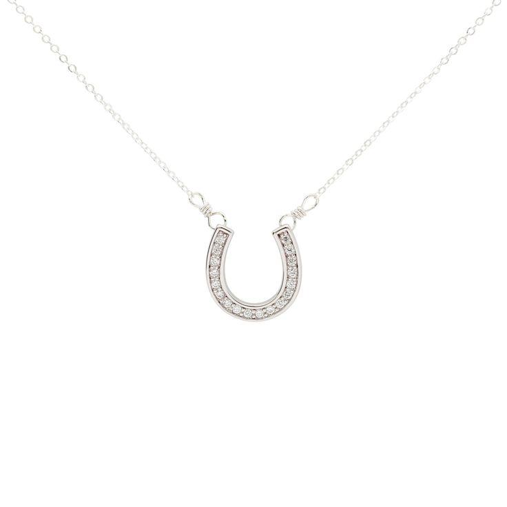 CZ Horseshoe Necklace | Ofina