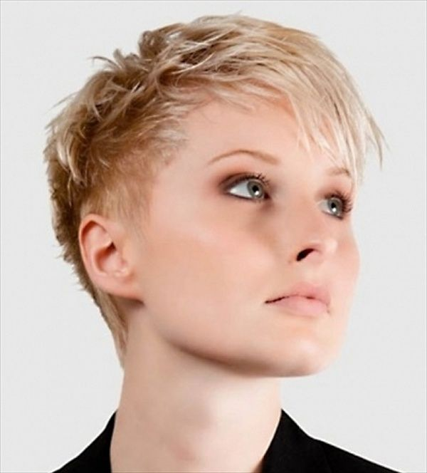 Really Short Hairstyles Pinirena On Ostre Cięcie  Pinterest  Hair Cuts Pixies And