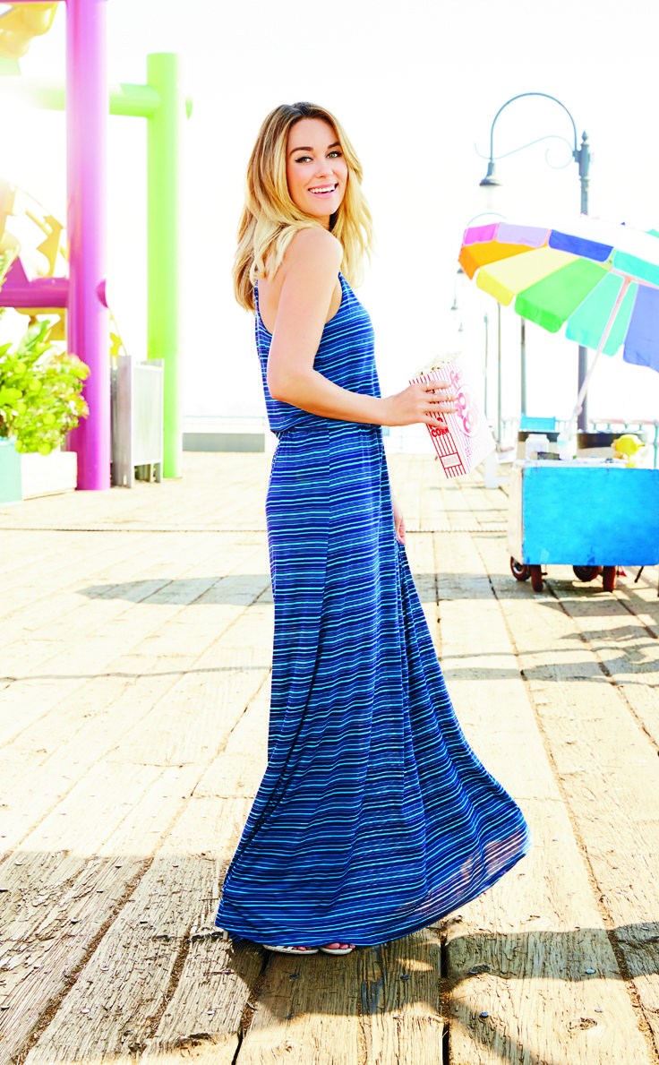 Earn your stripes in easy weekend style. LC Lauren Conrad at #Kohls