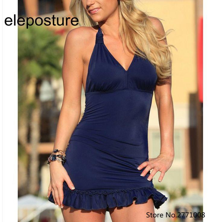 Two Piece Swimwear Dress Women Push Up Swimsuit Skirt Brazilian Beachwear Swimwear 2017 Bathing Suit High Waist Tankini Set S-XL