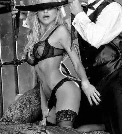 Bondage utilizado en el juego sexual