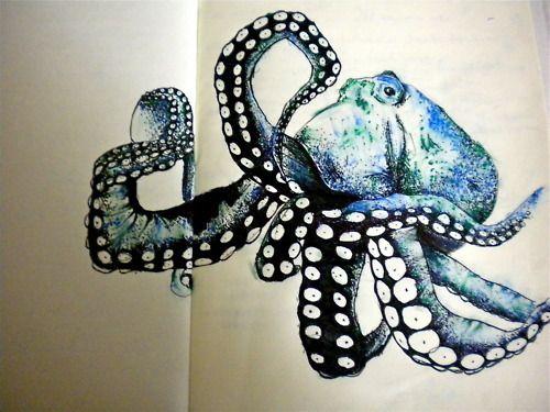 I love octopus illustrations!