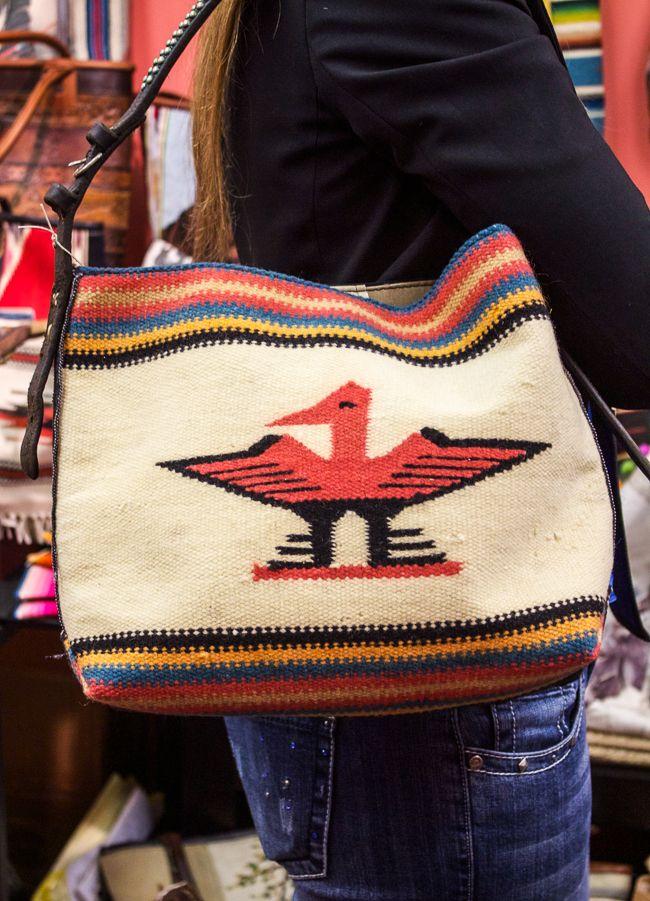 Totem Salvaged Navajo Style Bag