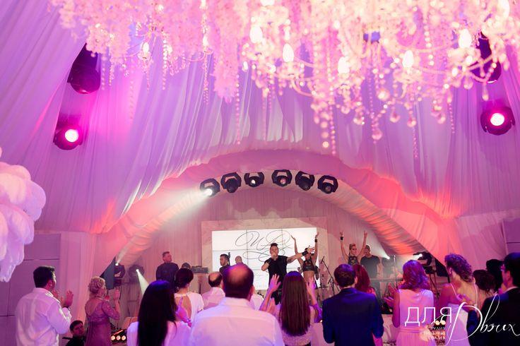 Живое выступление Сергея Лазарева на свадьбе, организованной студией Для Двоих