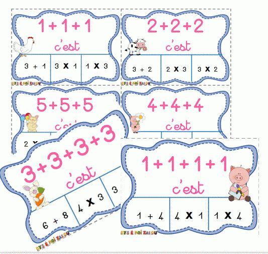 312 best multiplication images on pinterest elementary - Reviser les tables de multiplications ...