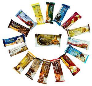 """QuestBar набор батончиков """"все вкусы"""" + конфеты Cravings"""