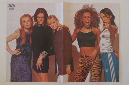 Spice-Girls-Beckham-Mel-B-Bunton-Melanie-C-Geri-Halliwell-Swedish-POSTER-1990s