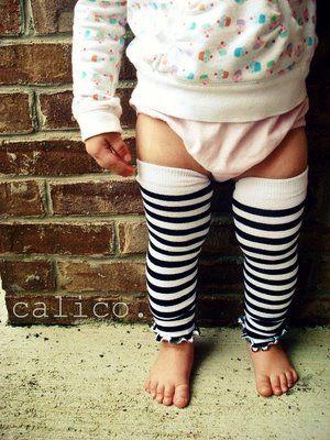 DIY baby legs