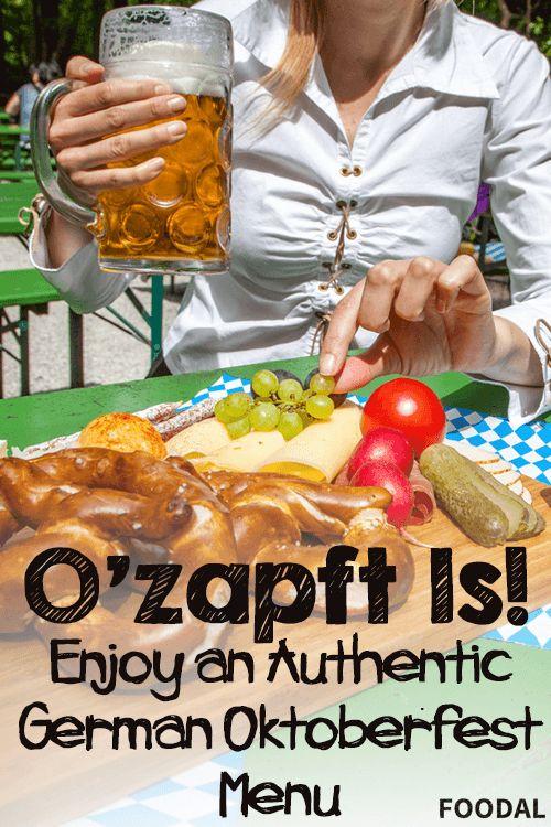 O'zapft Is - Enjoy an Authentic German Oktoberfest Menu   Foodal.com