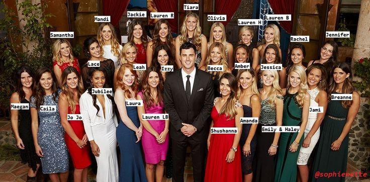 The Bachelor 2016 - Meet Ben H's ladies