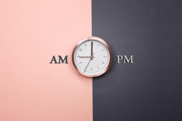 معنى Am و معنى Pm المستخدمة في الساعة Clock Wall Clock