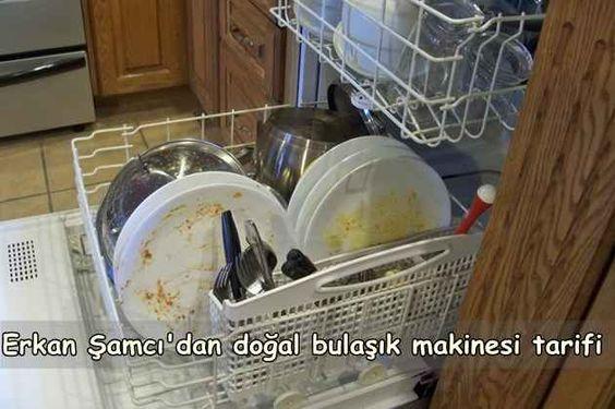 Doğal bulaşık deterjanı yapımı Erkan Şamcı tarifiyle...