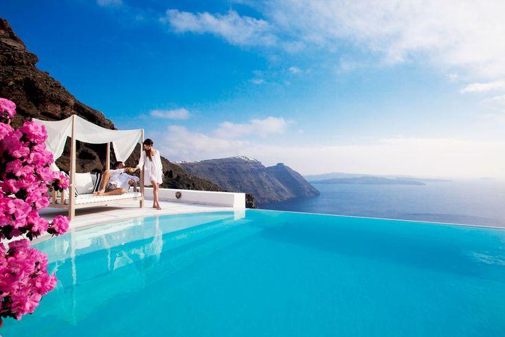 San Antonio Hotel, Santorini, Greece.