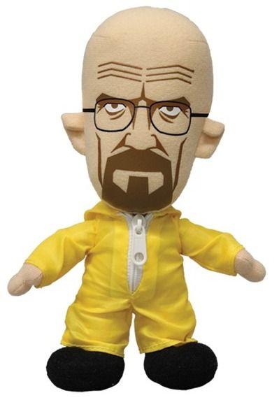 Mezco Toyz - Breaking Bad - Walter White Plush Doll. Во все тяжкие - Волтер Вайт * Уолтер Уайт в жёлтом защитном костюме - плюшевая фигурка * кукла - игрушка мягконабивная