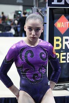 Aliya Mustafina... She is fierce!