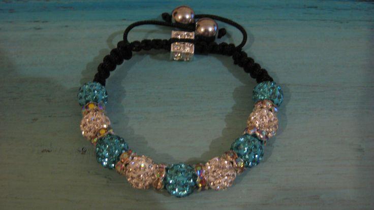 Turquoise and diamante bracelet, jewellery,Christmas present,bridesmaid gift ,thankyou,steampunk,bridal,bride,evening wear,jewellery by LovenLightFabrics on Etsy