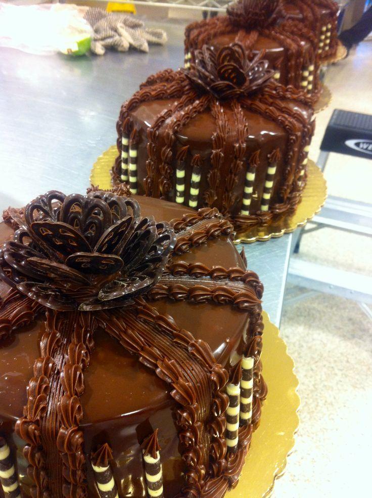 Publix Chocolate Ganache Supreme Cake Nutrition