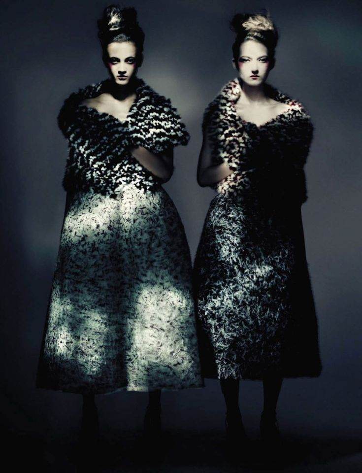 """""""Couture,"""" by Paolo Roversi for Vogue Italia September 2015 - Dior"""