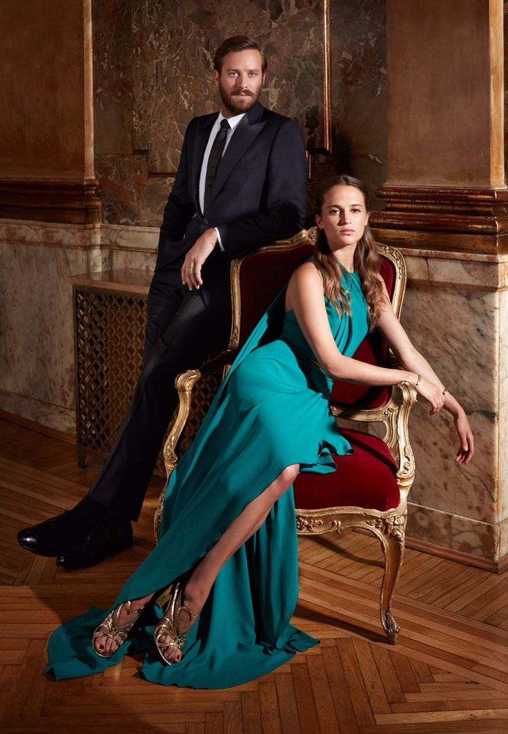 Armie Hammer & Alicia Vikander