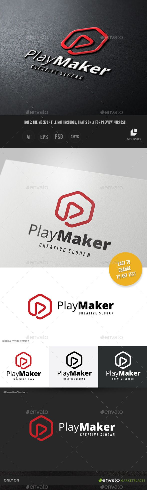 Play Maker — Photoshop PSD #web studio #sing • Available here → https://graphicriver.net/item/play-maker/10994650?ref=pxcr