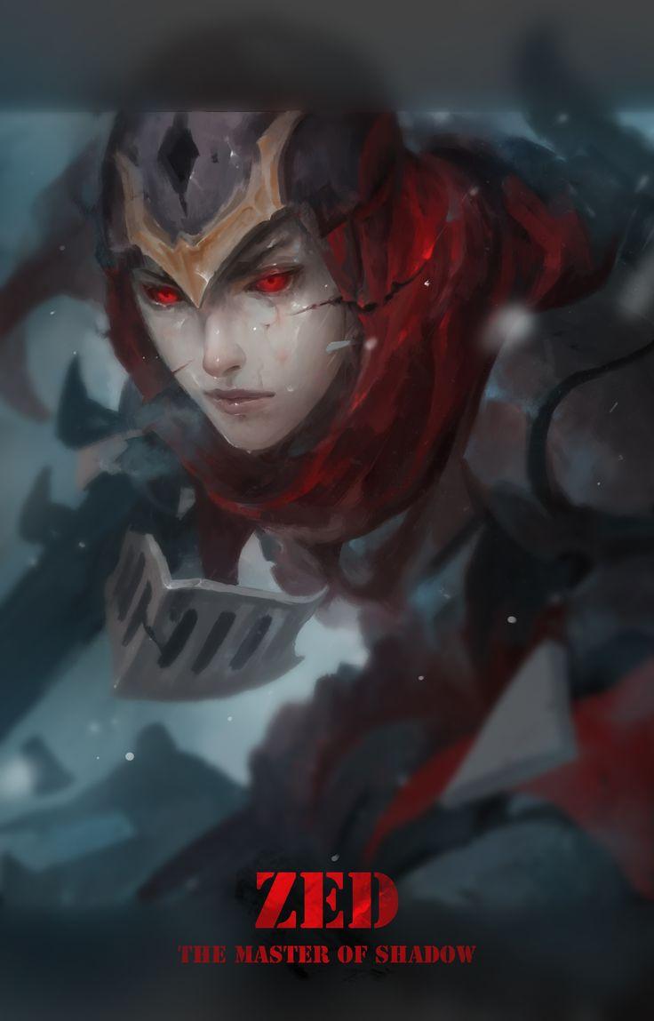 Zed - Mask broken by LeeKent