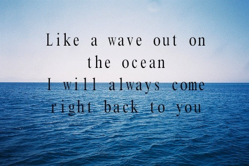 One of my most favoritest quotes ever.   Hunter Hayes - Where We Left Off - Act of Valor