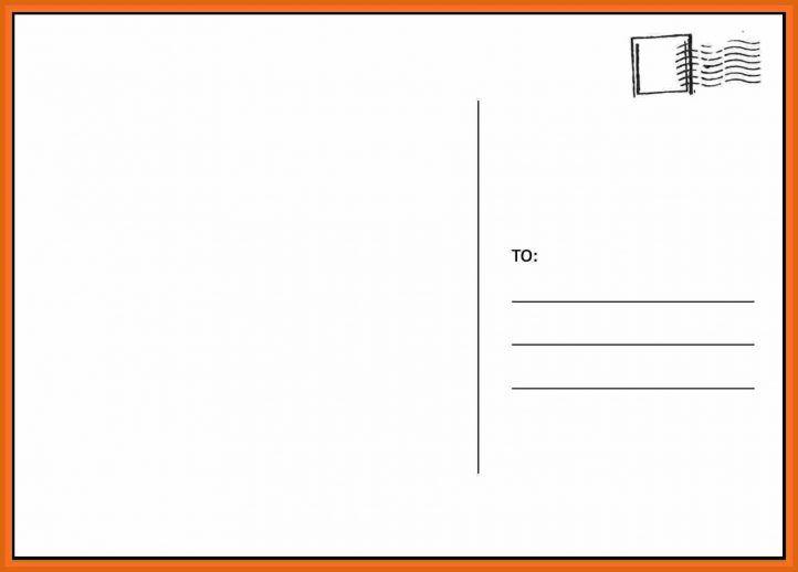 Blank Postcard Template Postcard Template Free Postcard Template Printable Postcards Template