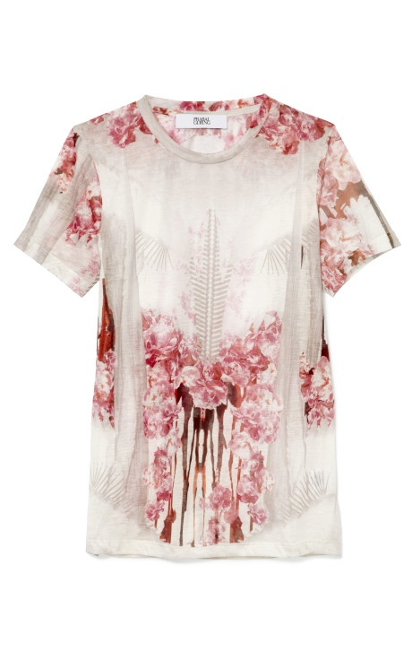 new release prabal gurung. graphic floral tee