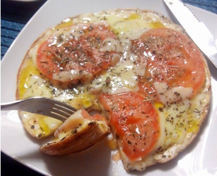 Pizza de Frigideira Fit
