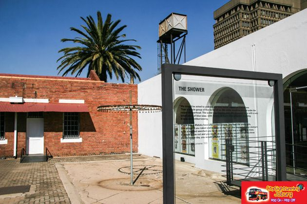 The laundry and shower courtyard. http://citysightseeing-blog.co.za/2014/07/24/you-strike-a-woman-you-strike-a-rock-johannesburg/