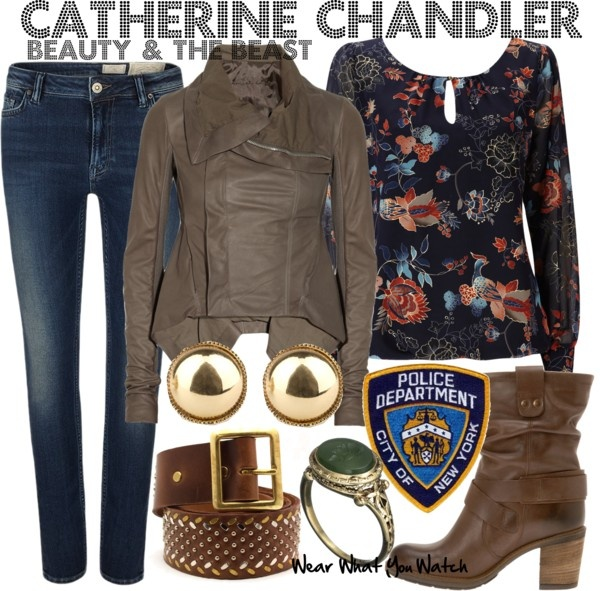 Inspired by Kristin Kreuk as Catherine Chandler on the CW series Beauty and the Beast.