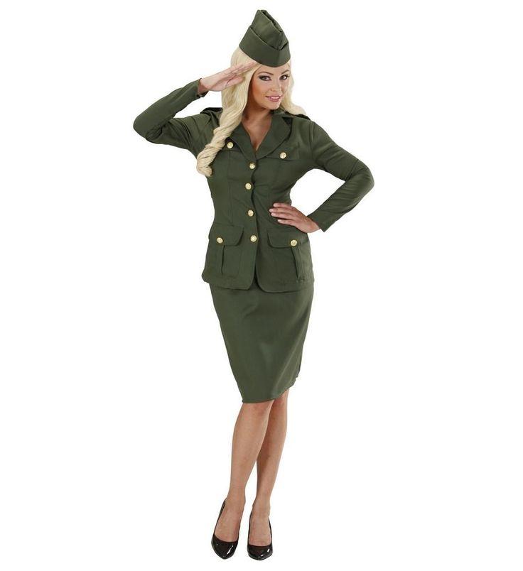 Køb 2. Verdenskrig Soldat Pige  til kun 289,-  på Temashop.dk