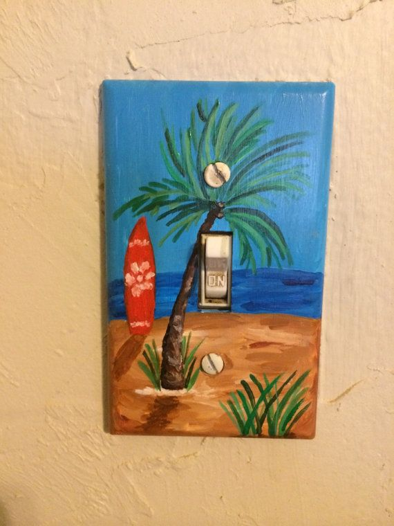 Light Switch Cover Light Switch Plate Beach by MegsArtStudio