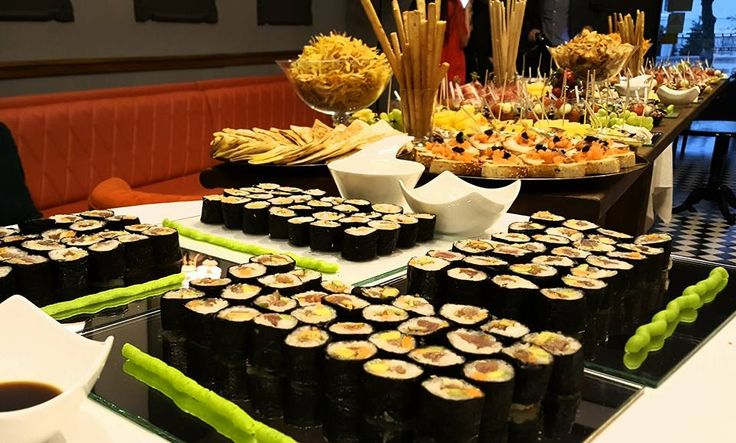 Bar de sushi si gustari sanatoase, facute in casa  dar cu un aspect elegant si un gust bogat.