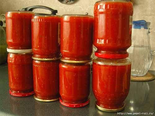 вкуснейший кетчуп на зиму