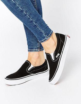 Классические черные кеды-слипоны VANS #fashion #trend #jewelry #onlineshop #shoptagr