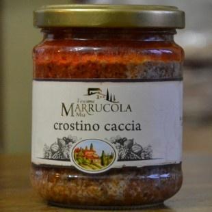 ..assaggiate anche il crostino di Caccia proposta da Vivere la Toscana, un PATÉ PER CROSTINI A BASE DI CARNI NERE MISTE, LEPRE, CERVO, FAGIANO E CINGHIALE  http://www.viverelatoscana.it/crostino-caccia.html