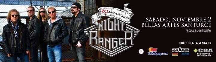 Night Ranger @ Centro de Bellas Artes Luis A. Ferré, Santurce #sondeaquipr #nightranger #centrodebellasartes #luisaferre #santurce #sanjuan #noviembre2013