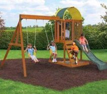 Play-sets, Playhouse, Kid's Pools, Swing-sets, Outdoor, FREE shipping nationwide, NO SALES TAX most states, NO INTEREST financing, ADD to Amazon cart for Options/Deals, Rent Sheds, Tiny House, Outdoor Living