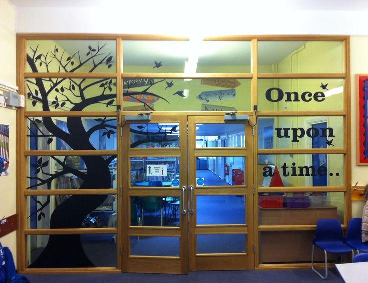 School Library Doors & 27 best School Library Doors and Entrances images on Pinterest ...