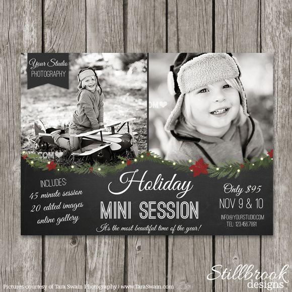 Christmas Mini Marketing Board by Stillbrook Designs on Creative Market