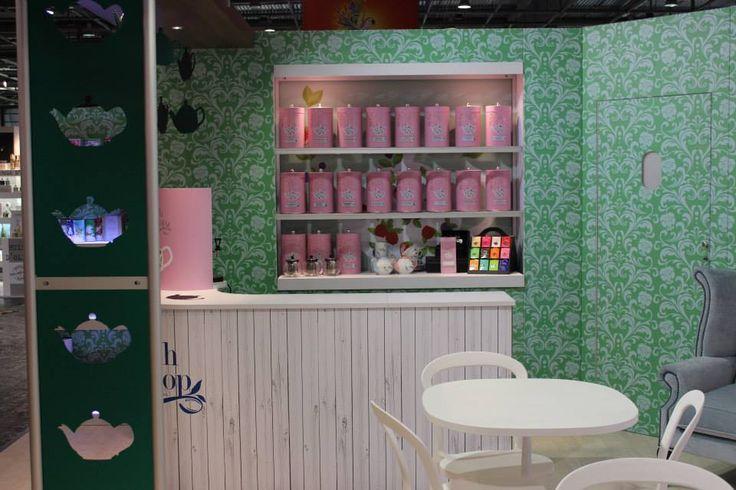 English Tea Shop at Sial Paris 2014. #SIALParis