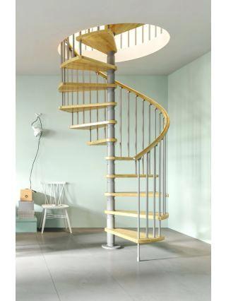 Best Spiral Stair Case Wood Deluxe Spiral Stair Kit Spiral 400 x 300
