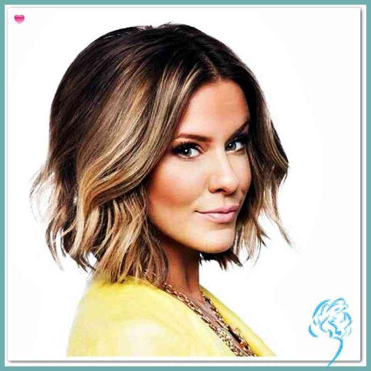 16 Kurze bis mittlere Frisuren für Frauen   Besten Frisuren Für Damen   Damen Frisuren