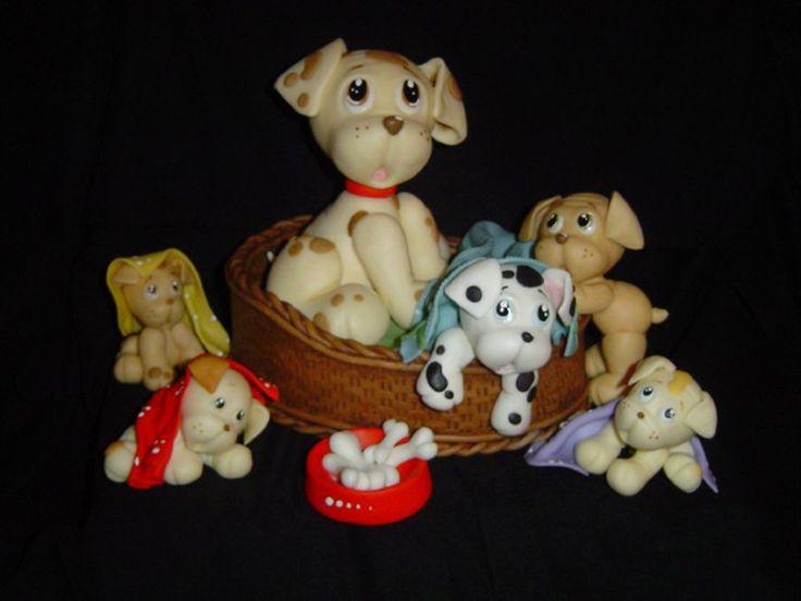 perritos en porcelana fria