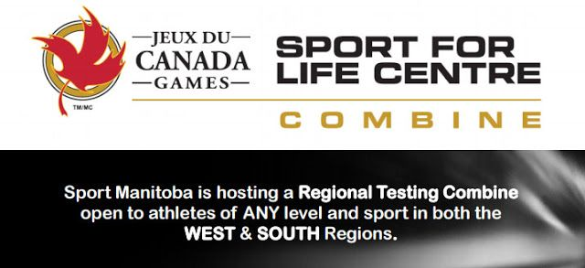 Sport Manitoba Hosting Regional Testing Combines in Winkler and Brandon in April   Sport Manitoba is hosting another Regional Youth Testing Combine in both Winkler (South) and Brandon (West) on April 28 & 29 2017 respectively. This Fitness Testing Combine is a one-stop-shop to get all of your pre mid and post-season testing done in one quick session and receive instant information on the results achieved by your athletes. Please read below for more information.  REGIONAL TESTING COMBINE…