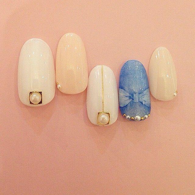 ブライダルネイル ウェディングネイル #nail #nailart #fashion #ネイル